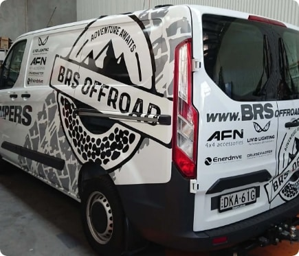 BRS Offroad Car Wrapping Services Newcastle - Big Colour