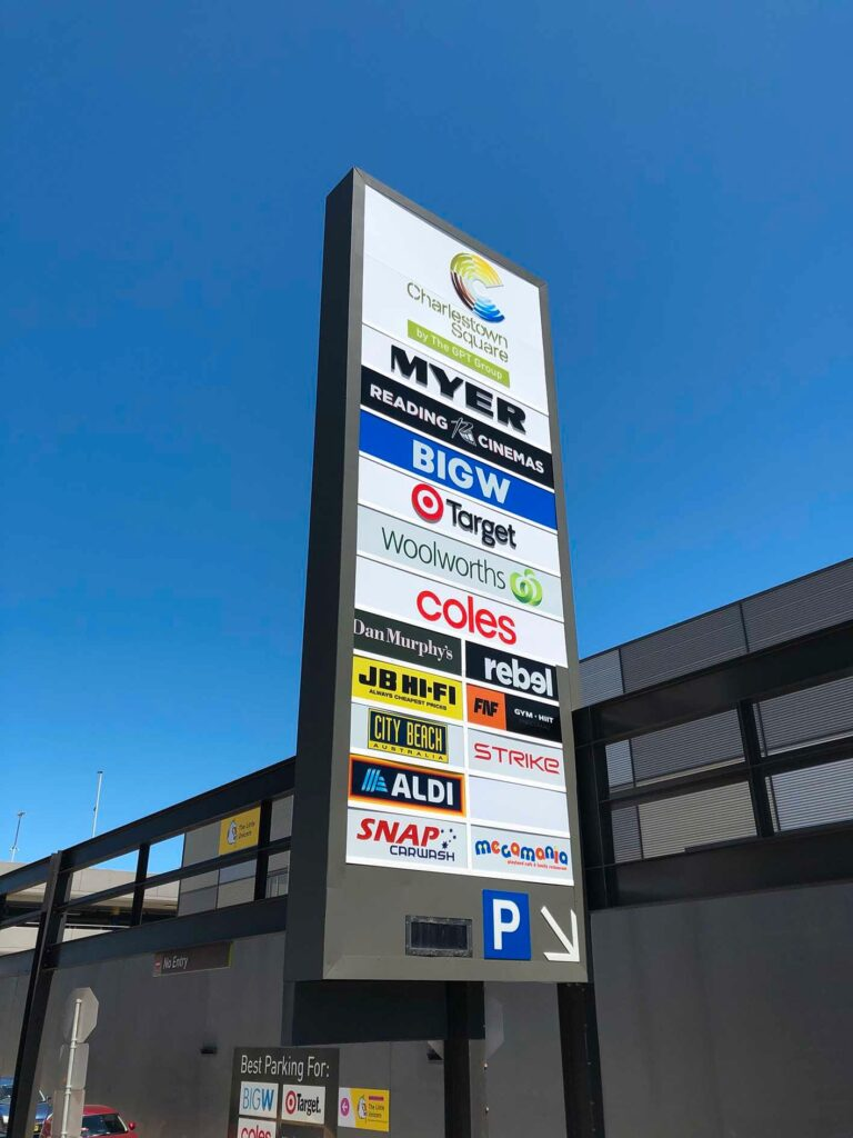 Charlestown Square - General Signs & Banners Printing Newcastle - Big Colour