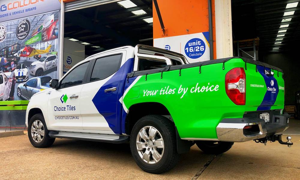 newcastle vehicle wraps