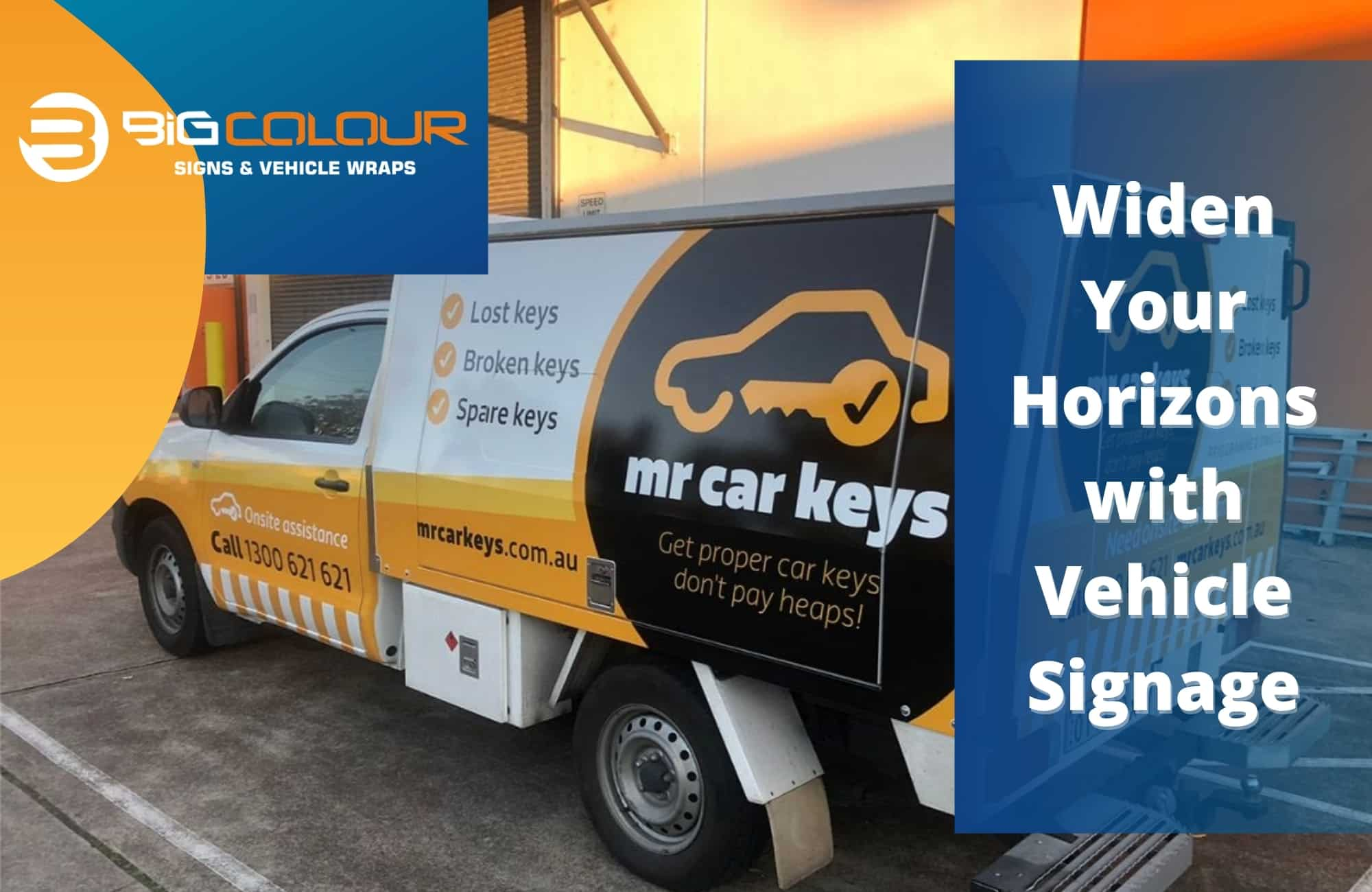 Widen Your Horizons with Vehicle Signage
